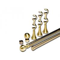 Buy cheap Metal Fashion Decorative Curtain Rods And Finials 16mm for Curtain Rods from Wholesalers