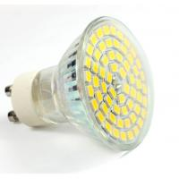 China Aluminum glass led spot light GU10 AC85-265V E27 bulb 60pcs SMD2835 new down indoor lamp factory