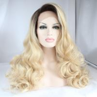 Buy cheap Fashion New Style Ombre Synthetic Lace Front Wigs Blonde Wigs from Wholesalers