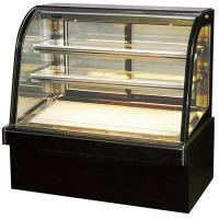 China Humanized Design Commercial Cake Display Fridge With Digital Display Thermometer on sale
