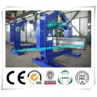 China Chain Type Turning H Beam Welding Machine Half Automatic 4 Tons Chain Tilter factory