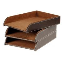 Buy cheap Popular Crafts Leather Document Tray from Wholesalers