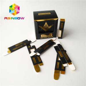 Buy cheap Paper Herbal Incense Packaging 510 Ceramic Vape Tank Cbd Oil Cartridge Packaging Box from wholesalers