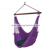 Buy cheap Kids / Adults Indoor Outdoor Two Person Caribbean Hammock Chair 275 Pounds Capacity Purple from Wholesalers