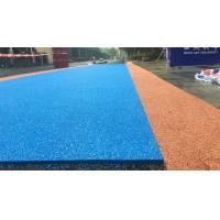 China Colored Rubber Running Track Surface , EPDM Iaaf Approved Track Surfaces factory