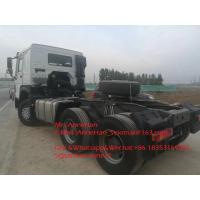 Buy cheap 420hp Sinotruk Howo7 Tractor Truck 6x4 10 Wheels HW76 Cabin For Tow 50T from Wholesalers