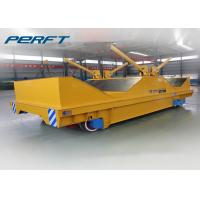 Buy cheap Coil Rail Transfer Cart Electric Material Battery Operated Coil Transfer Cart Industry Transfer Car from Wholesalers