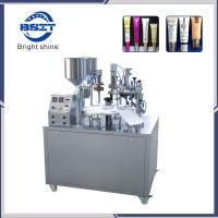 China manual Hot Sale Soft Tube/Hose/Pipe Filling Sealing Machine (Toothpaste/Cream/Food) factory