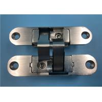 China Right Open Adjustable Concealed Hinges Zinc Alloy 180 Degree 35mm Thickness factory