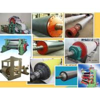 Buy cheap rubber roller for printing paper machine from Wholesalers