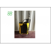 China Yellow 16L PU Knapsack Sprayer Machine factory