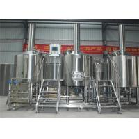 China 1200L Stainless Steel Beer Brewery Equipment Micro With High Production Efficiency factory
