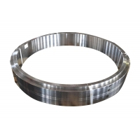 China Heat Treatment 34CrNiMo6 Forged Steel Rings factory