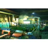 Bronze Plate Strip Pipe Rod Horizontal Continue Casting Machine 2 Double Strand for sale