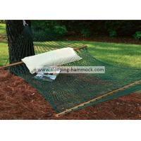 Buy cheap Patio Durable Polyester Rope Hammock , Hanging Camping Double Mesh Hammock Bed from Wholesalers