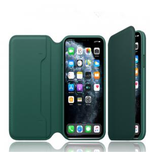 China Flip Leather Iphone  11 Pro 5.4 Inches Magnetic Phone Case factory