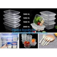Buy cheap Transparent plastic fresh-keeping food storage container,plastic food lunch box,Food Portions box Perfect Portions food from Wholesalers