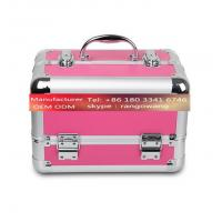 Quality High Grade Aluminum Alloy Jewelry Box Makeup Case wholesale