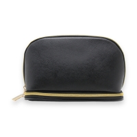 China Customized Black Saffiano PU Storage Bags For Traveler factory