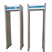 China 8 Zones Walk Through Metal Detector Humanoid Alarm Indicator Door Frame Light Alarm factory