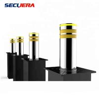 China Adjustable Speed Electric Hydraulic Road Blocker Stainless Steel With LED Light factory