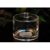 China Clear Unique Decorative Glass Perfume Bottles For Home Decor , Popular Shape on sale
