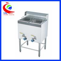 Buy cheap Commercial Chicken Double Tank 28 Litre Lpg Gas Deep Fryer Freestanding from Wholesalers