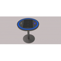 China Embed Heighten 6.7V 30W Wireless Charging Coffee Table factory
