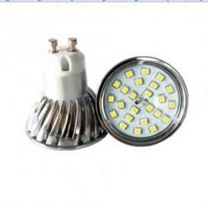 China GU10 twist and lock SMD2835 high lumen spotlight led reflector wind cup factory