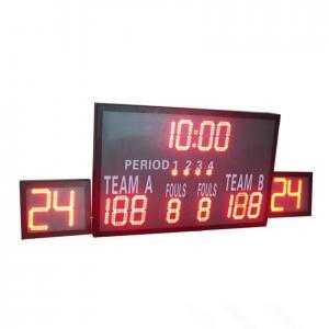 China Outside Multi Portable Basketball Score Clock , Basketball Game Scoreboard factory