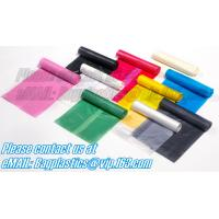 China roll bags, bin liners, nappy bags, nappy sack, diaper bag, alufix, rubbish bag, garbage factory
