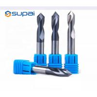 China High Hardness Chamfer End Mill 4 Flute Customized Length ISO Certification factory