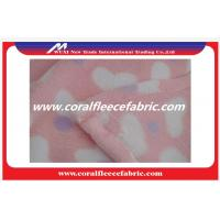 China Shoes / Sofa / Toy Material Coral Fleece Fabric Eco-friendly Printed Polyester Fabrics factory