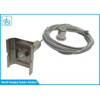 China Aircraft Galvanized Steel Cable Suspension Kit For Lighting Installation factory