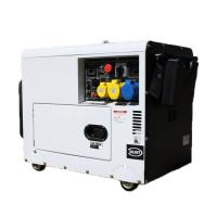 Buy cheap Petrol Air Cooled Engine Gas Powered Generator 5kw 3kw Power Silent 4 Stroke AVR from wholesalers