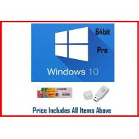 Quality OEM Software Windows 10 Pro Retail Box For PC Or Tablet / COA License Sticker wholesale