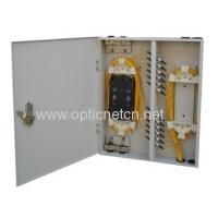 China Dust Proof Fiber Optic Wall Box , Network Distribution Box Compact Structure on sale