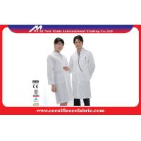 China Medical Eco-friendly Reusable Doctors Lab Coats for Women and Men , Antibacterial factory