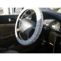 China steering wheel cover, car seat cover, disposable cover, pe car foot mat, gear cover, auto, Protective automobile product factory