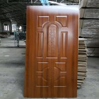 Buy cheap Melamine Mould MDF Door Skin For Interior Design , Durable Front Door Skins from Wholesalers