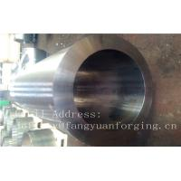 China F316H S31609 Stainless Steel Forging Forged Cylinder  Seamless Pipe  Flange factory