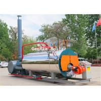 Buy cheap Clothing Industry Gas Steam Boiler Fire Tube Structure Horizontal Style from Wholesalers