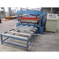 Buy cheap Misubishi PLC Automatic Floor Decking Roll Making Machine with CE Certificate from Wholesalers