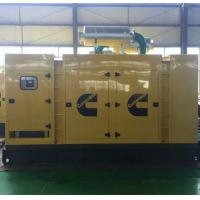 Buy cheap 60Hz 1000kva Silent Electric Cummins Diesel Generator with engine kta38 - g2 DSE 7320 controller from Wholesalers