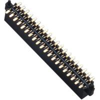 Buy cheap WCON Female 1.27 Mm Pin Header Dual Row SMT Pin Header 1.0AMP from Wholesalers