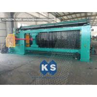 Buy cheap 4300mm Max Width Gabion Machine Turbine Protection System For Petroleum from wholesalers