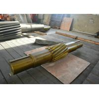 Buy cheap Custom Mining Truck Steel Helical Gear Shaft 17CrNiMo6 / 20CrMnTi from Wholesalers