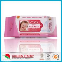Buy cheap Newborns Unscented Alcohol Free Baby Wipes Chemical Free Non Woven from Wholesalers