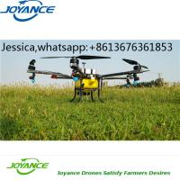 China 5L-20L Agriculture Drone Fumigation Crop Duster Drone Sprayer UAV with battery Power on sale