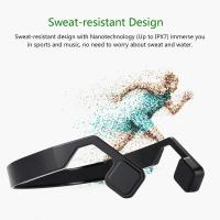 Buy cheap Bone Conduction Bluetooth Headphone Wireless Sport Headset Waterproof IPX5 Stereo Earphone With Microphone from Wholesalers